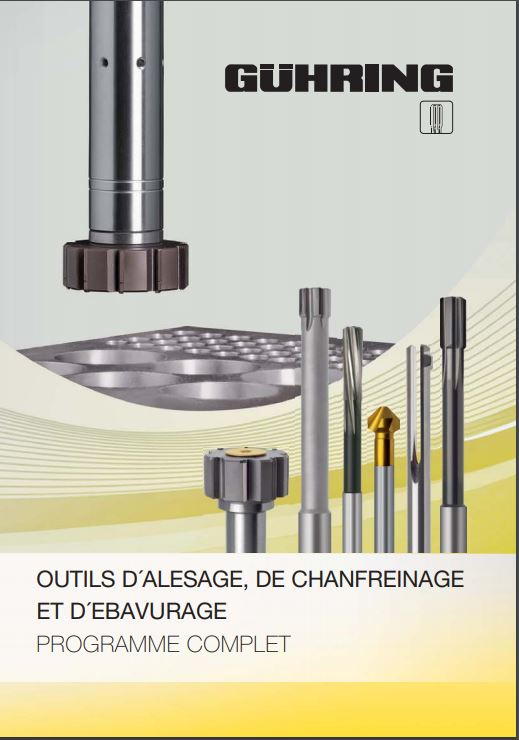 complete catalogue range of reamers, countersink bits, deburring tools