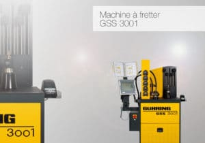 Machine à fretter GSS 3001