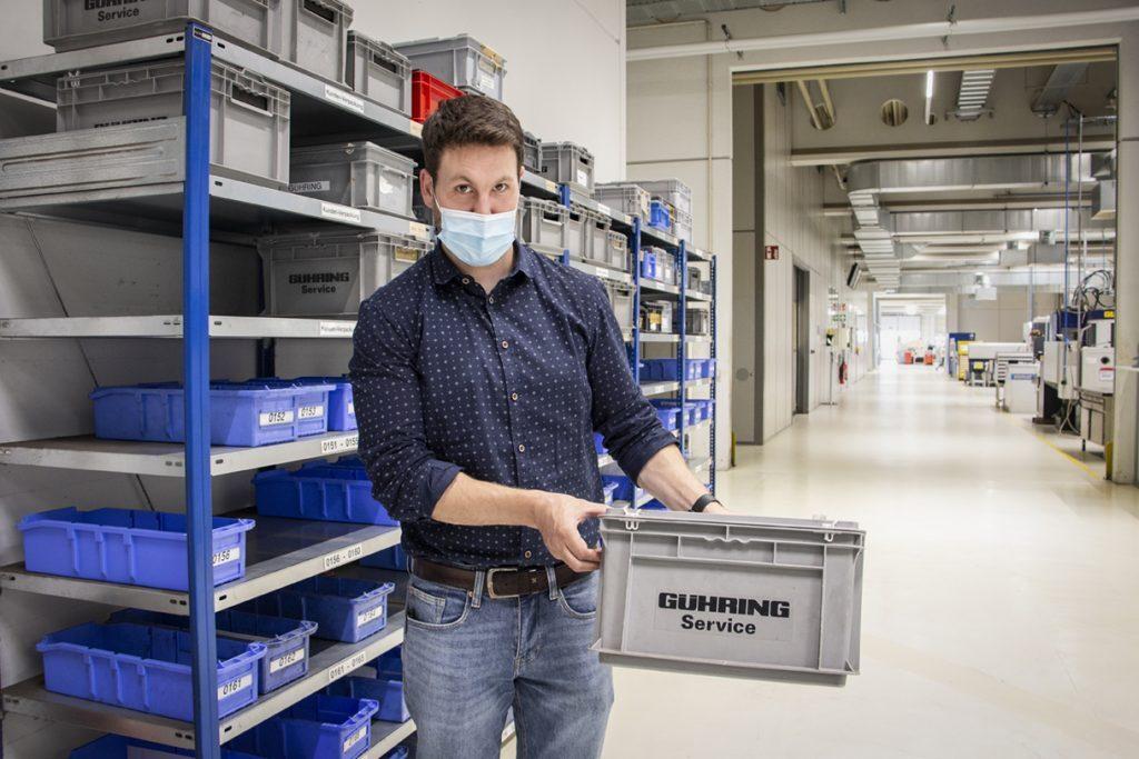 Matthias Lorch leitet das Nachschleifzentrum in Albstadt-Ebingen.