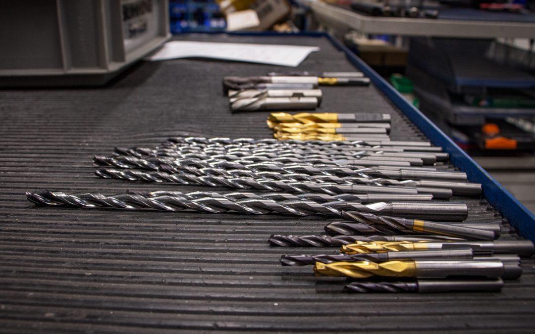 Wieder wie neu: Werkzeugaufbereitung im Dienstleistungszentrum